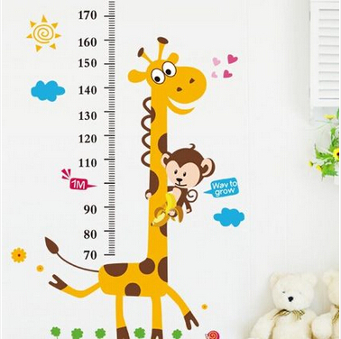 The Giraffe Home Decor For Measuring Children 39 S Height
