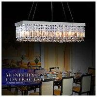 Modern LED Crystal Chandeliers Candle Light Lustres De Cristal Lamp For Kitchen Home Art Decoration Lights