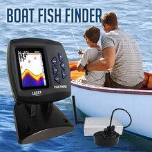 FF918 CWLS Lucky Fish Fish Finder จอแสดงผลสีช่วงการใช้งาน 300 m ลึก 100 M