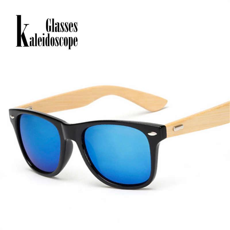 c638f0aafb Kaleidoscope Glasses Classic Wood Sunglasses for Men Women Vintage Bamboo  Sun glasses Women Retro Male Wooden