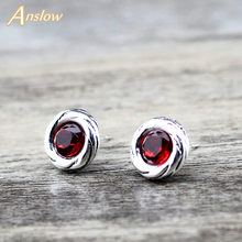 Anslow Fashion Perhiasan Anting-Anting Perhiasan Anting-Anting untuk Wanita 2019 Vintage Crystal Anting-Anting Pernikahan Korea Anting-Anting LOW0141AE(China)