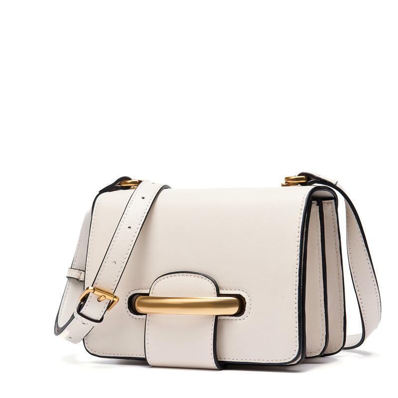 2017 New Fresh Women Handbags Genuine Leather Fashion Cow Leather Bag Lady Shoulder Crossbody Messenger Bags Ring Reverse Buckle 2016 new style women handbags elegant stone crossbody bag fashion embossed lady s genuine leather portable bags