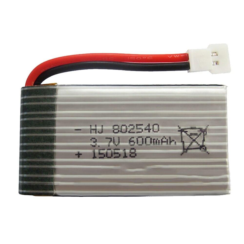 Hiinst Model 802540 1PC 3.7V 600mAh Lipo Battery for Syma X5SW X5C Tianke M68 mjx X705C Cheerson CX-30 RC Quadcopter kusb 001 usb charger for syma jjrc cheerson hubsan mjx