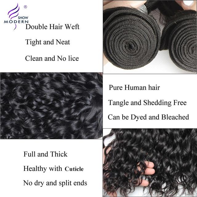 Online Shop Brazilian Water Wave Hair Bundles 1 Piece Hair Weave
