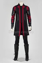 2016 New Super Hero Costume Avengers Age of Ultron Hawkeye Cosplay costume Clint Barton halloween costume for adult men