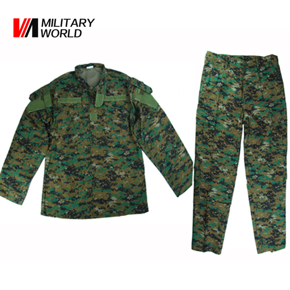 Sport Hunting Military Combat Uniform Shirt & Long Pants Suits Men Tactical Airsoft Camouflage Jacket Trousers Clothing Set men combat field shirt long cargo pant hunting airsoft ghillie suit camouflage clothes military bdu tactical uniform set