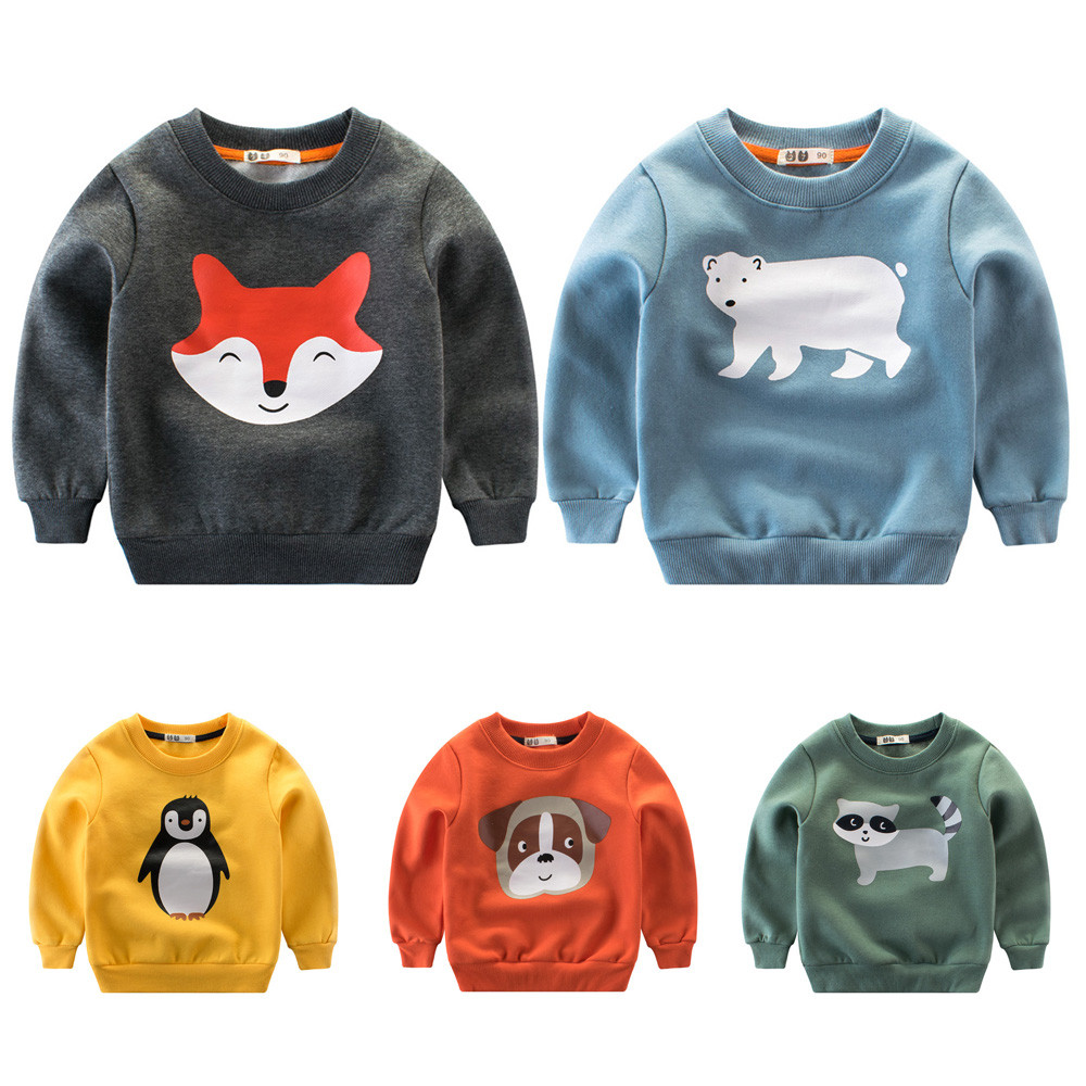 c362f0cff786 Children s Sweaters 2018 Autumn Winter New Kids Christmas Clothing ...