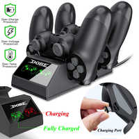 PS4 Controller Charger PS4 USB Charging Dock Station Charging Station for Sony Playstation 4 / PS4 Pro Controller