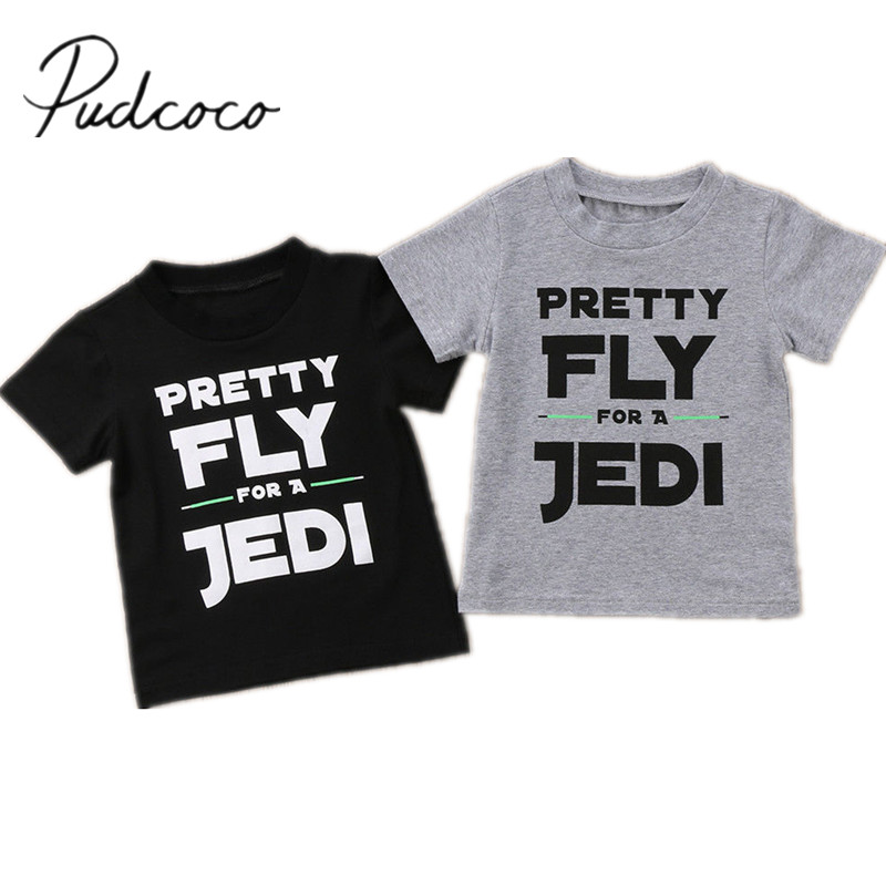 Outfits T-Shirt Tops Toddler Kids Brand-New Short-Sleeve Baby-Boy Cotton Infant Casual