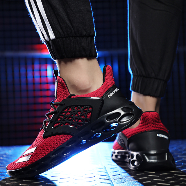 2019 Men Sneakers Size 39~48 fashion trending casual men shoes summer breathable krasovki #G21
