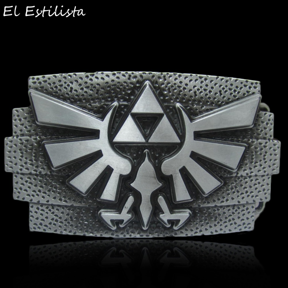 Apparel Sewing & Fabric The Legend Of Zelda Belt Buckle Mens Vintage Silver Bronze Metal Buckles Suit 4cm Belts Jeans Accessories Western Cowboy Fivela