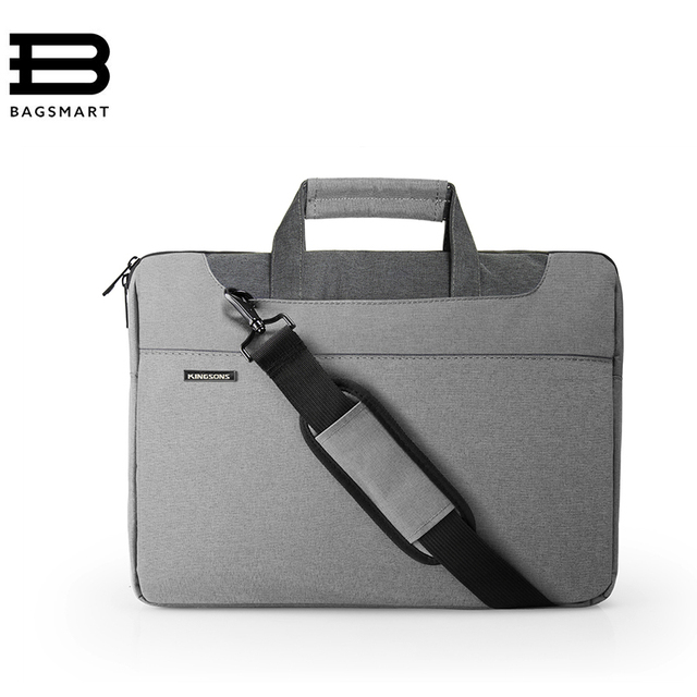 BAGSMART New Fashion Nylon Messenger Bags  15 Inch Laptop Bag Causal Shoulder Handbag Business Briefcase