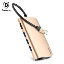 Original Baseus Allmächtigen Hub port Adapter für Typ C Notebook Unterstützt das Video Auflösung bis zu 4 Karat für MacBook Pro 2016