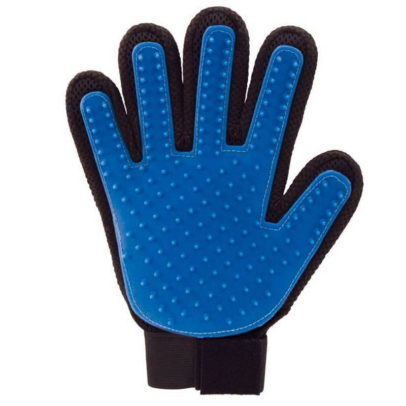 Pet Dog Cat Grooming Cleaning Massage Glove Pet Hair Glove Comb Hair Removal Brush Promote Blood Circulation For Animal