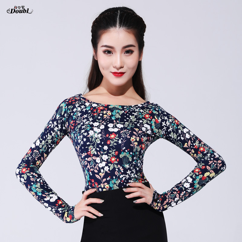 Latin Dance Costumse Sexy  Latin Dance Tops For Women Latin Dancing Jacket National Standard Dance Wear S-3XL