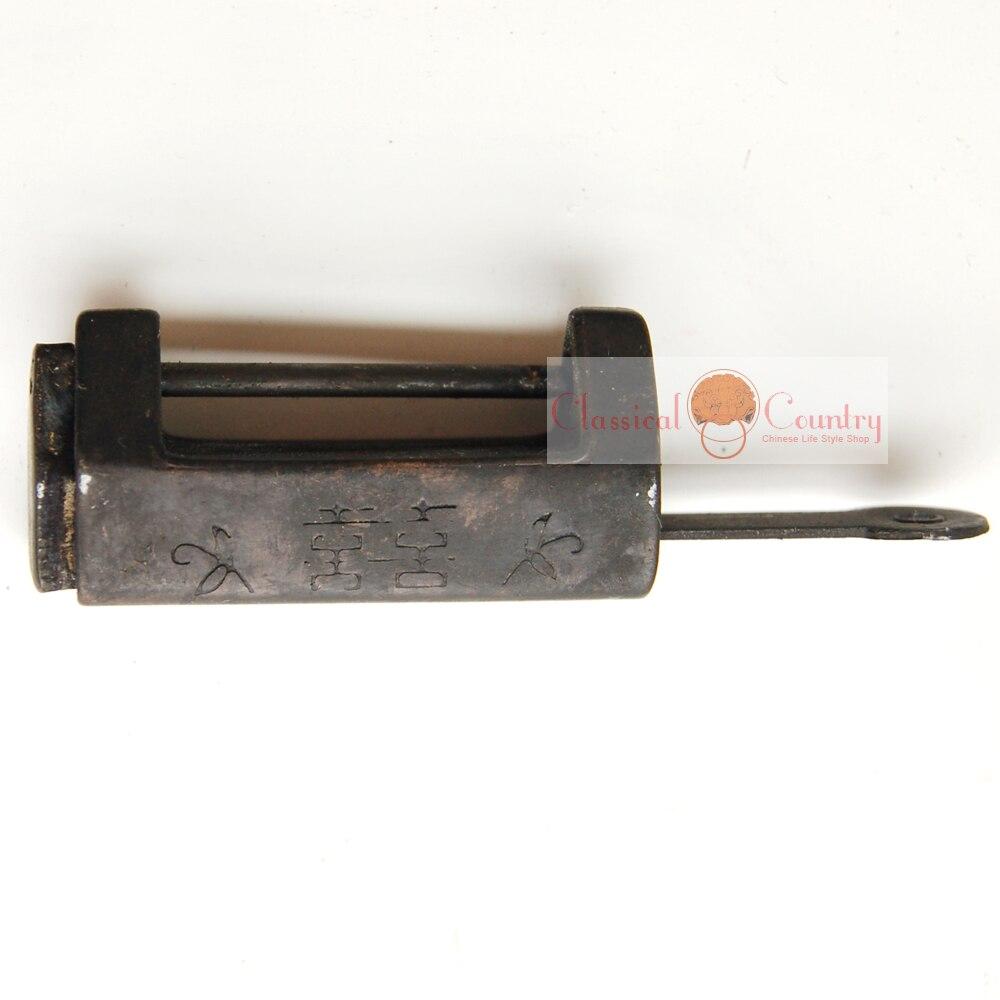 Aliexpresscom Buy 35cm Antique Brass Padlock Lock key