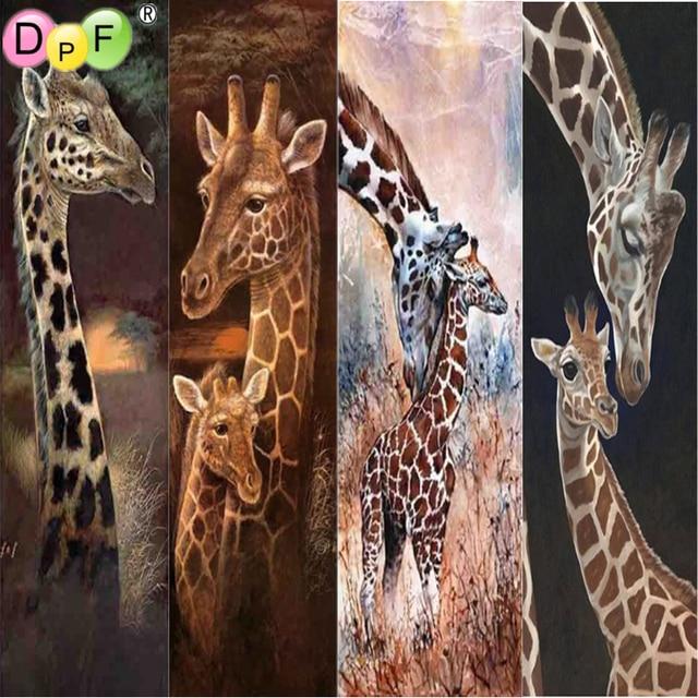 DPF 5D animals diamond embroidery pattern diamond painting cross stitch crafts diamond mosaic kit full square home decor gift