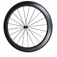 hot sale 700c dimple surface carbon wheelset light weight dimple carbon wheels 58mm carbon clincher road bike wheels