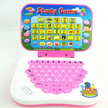1* Kids Learning Cartoon Folding Chinese and English Teaching Machine Mini Point Reading Educational Toys for Children Computer