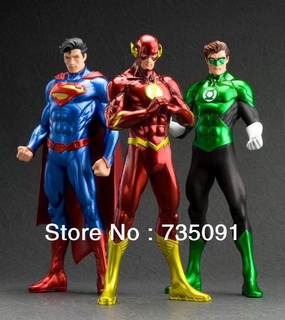 Resultado de imagem para Flash, Superman and Green Lantern together