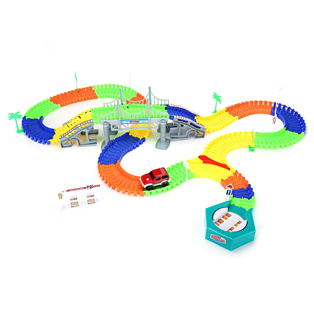 2017-New-Racing-Track-with-Car-Race-Track-Bend-Flex-Electronic-Rail-Race-Car-Vehicle-Toy-Roller-Coaster-Toys-Xmas-Gifts-for-kids-2