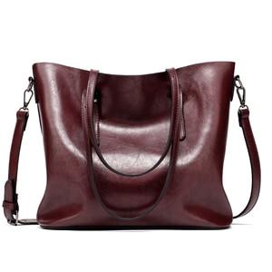 Image 5 - Brand Women Leather Handbags Womens PU Tote Bag Large Female Shoulder Bags Bolsas Femininas Femme Sac A Main Brown Black Red