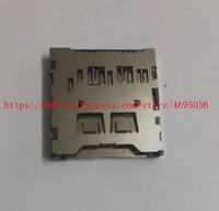 NOVA Slot Para Cartão de Memória SD Para Nikon D3400 Digital Camera Repair Parte|Acessórios do sistema|Eletrônicos -