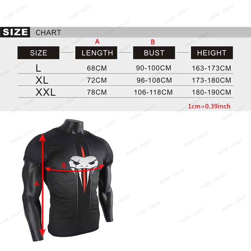 gym t shirt size