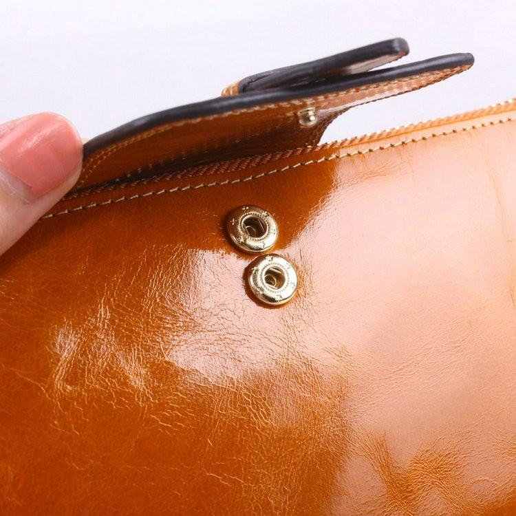 cattle leather wallets for women