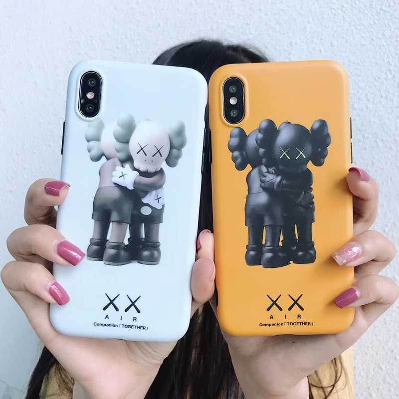 KAWS XX Airs Dissected lovely toys fake soft phone case for iphone 6 6s  6plus 7 7plus 8 plus X XS XR Max BRIAN cute phone cases