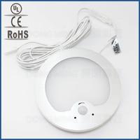 50pcs DC 12V PIR Body Motion Sensor Night Light Infrared Sensing Intelligent Induction Detector Panel Lamp
