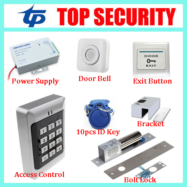 Standalone proximity RFID card accress controller 125KHZ ID card reader DIY single door keypad EM card access control systems proximity rfid 125khz em id card access control keypad standalone access controler 2pcs mother card 10pcs id tags min 5pcs