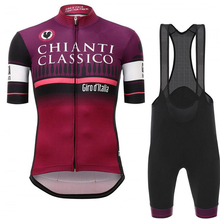 2017 Men Tour De Italy D'ITALIA Cycling Jersey Suit Short Sleeve Bike Clothing Bicycle Bib Shorts Cycling Ciclismo Cycling Team