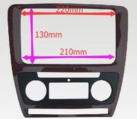 New Hot Fascia Audio Panel Refitting Frame Dash Kit For 2013 SKODA OCTAVIA 2010 RS YIZUN