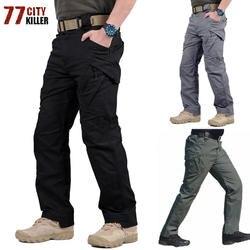 Летние дышащие IX9 военно-тактические брюки быстрое высыхание лагерь брюки быстро сухой нейлоновой ткани Водонепроницаемый армейские