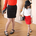 Baby Girls Knitted Woolen Skirt  New Fashion 2017 Spring and Autumn Parent-Children 's Solid Color Korean Knitting Short Skirts