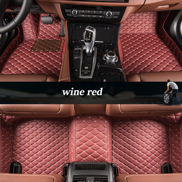 Kalaisike Custom Car Floor Mats For Mitsubishi All Models