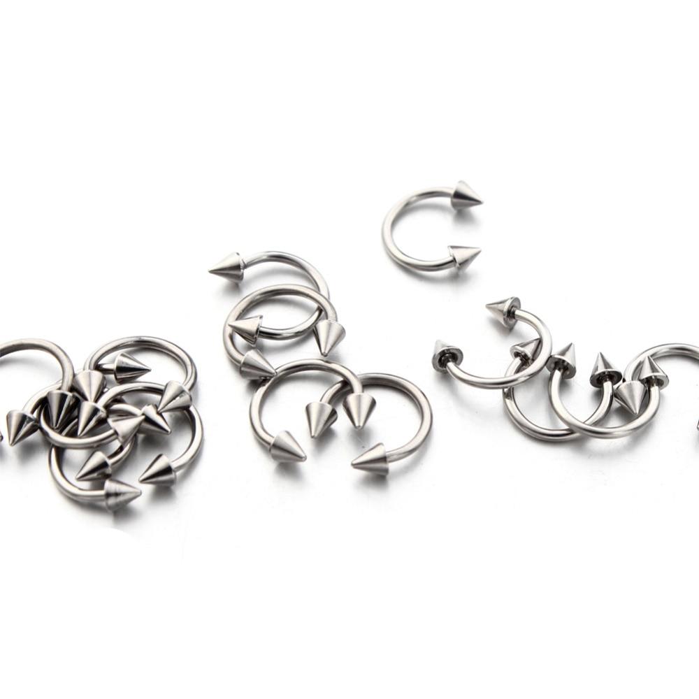 16G Septum Nose Ring No Piercing Women/Men Body Jewelry