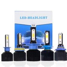 2 шт./лот D3 светодиодная фара головного света автомобиля H4 H7 H8 H11 9005 9006 72 W фары для 8000LM интегрированный налобный фонарь