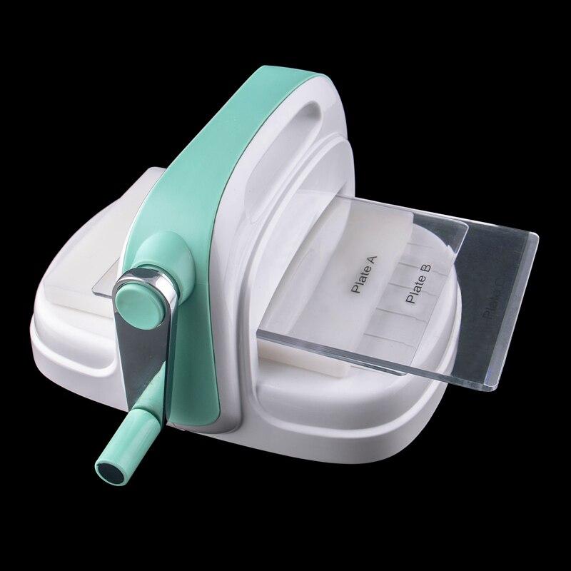 Высечка машина тиснение доска пластик и сталь Скрапбукинг штамп резак зеленая бумага Штамп Резак Cut DIY Скрапбукинг машина