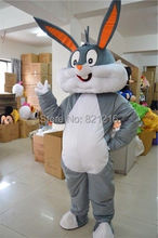 New Easter Bunny Rabbit Adult cartoon mascot costume(China)