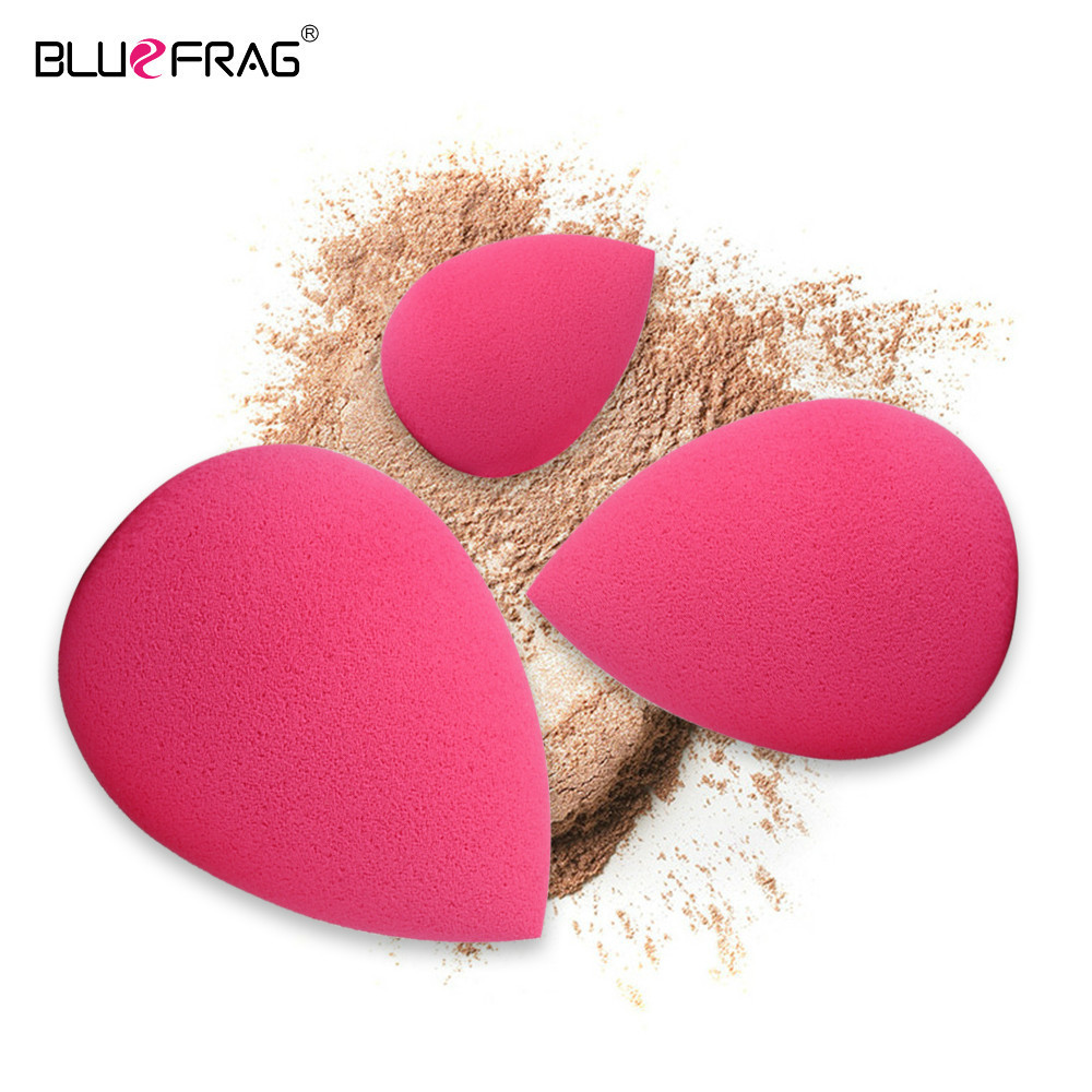 Women Beauty Cosmetic Puff Makeup Sponge Facial Cosmetic Smooth Beauty Foundation Powder Puff Make Up Tool 3pcs/1pcs Wholesale