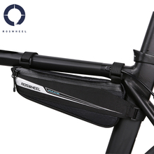 цена на Roswheel   Road Bike Bicycle Cycling Top Tube Front Frame Bag Triangle Bag Pannier Race Series Pack