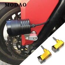 עבור הונדה INTEGRA NC700D NC750D XADV CNC אלומיניום אופנוע תחתון מנורת הרכבה סוגר שונה זרקור סוגר