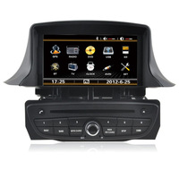 Free Shipping Car DVD Player GPS Navigation For Renault Megane 3 Can Bus Support Steering Wheel