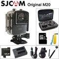Original m20 câmera de ação esporte 4 k wifi sjcam sj cam debaixo d' água Gyro Mini DV Camcorder 2160 P HD 16MP Com Formato BRUTO À Prova D' Água