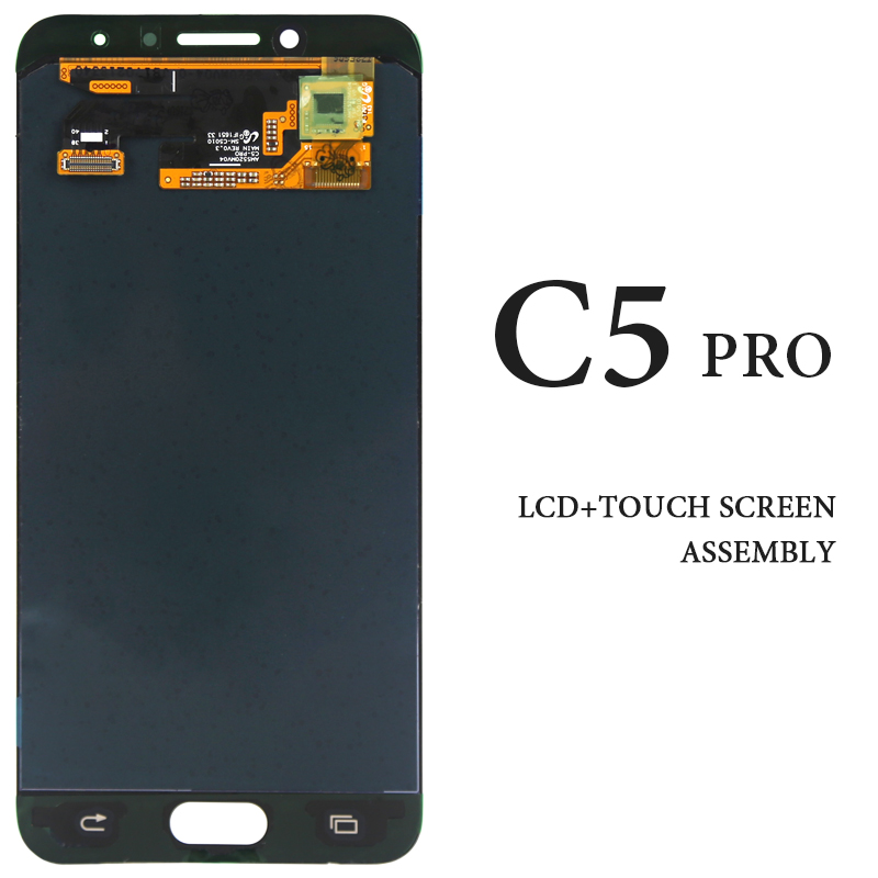 For Samsung Galaxy C5 Pro C5010 LCD Touch Screen AMOLED OEM No Dead Pixel Display Digitizer Assembly Phone Replacement PartsFor Samsung Galaxy C5 Pro C5010 LCD Touch Screen AMOLED OEM No Dead Pixel Display Digitizer Assembly Phone Replacement Parts