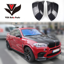 2014 2015 2016 M Style X3 X4 X5 X6 Car-Styling Carbon Fiber Full Replament Mirror Covers for BMW F25 F26 F15 F16