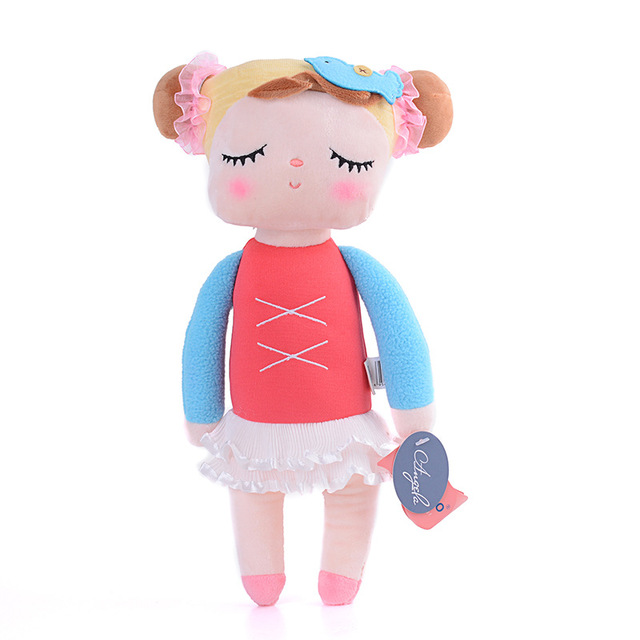 13 Inch Plush Sweet Cute Lovely Stuffed Bonecas Baby Kids Toys for Girls Birthday  Gift Angela Rabbit Girl Metoo Doll