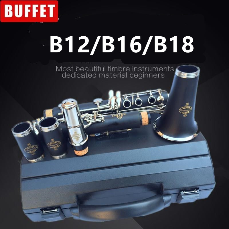 Top New JUPITER JCL-637N B-flat Tune Professional High Quality Woodwind Instruments Clarinet Black tube With Case Accessories free shipping new high quality tenor saxophone france r54 b flat black gold nickel professional musical instruments